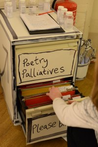 Poetry Pallitives cabinet